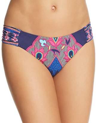 Trina Turk Sri Lanka Shirred Side Hipster Bikini Bottom - 100% Exclusive