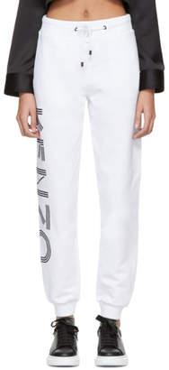 Kenzo White Sport Lounge Pants