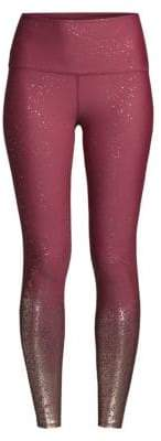 Beyond Yoga Alloy Ombre Metallic High-Rise Leggings