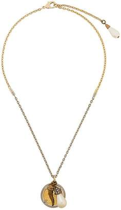 Dolce & Gabbana multi charm pendant necklace
