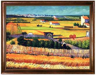 The Harvest Framed Painting by Vincent Van Gogh