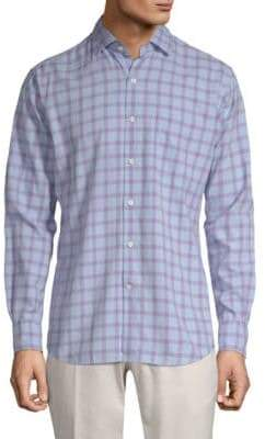 Peter Millar Castine Tatters Button-Down Shirt