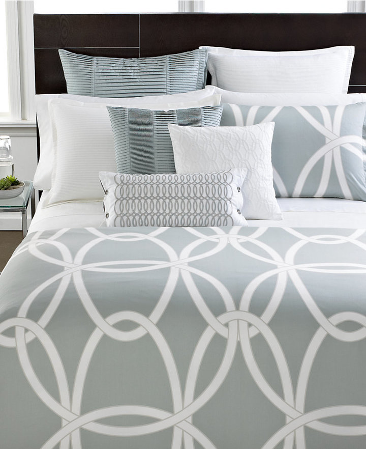 Hotel Collection Modern Gate Queen Duvet Cover