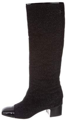 Chanel 2017 Knee-High Boots Black 2017 Knee-High Boots
