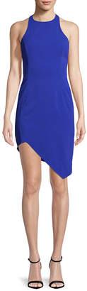 Jay Godfrey Asymmetric Sheath Dress