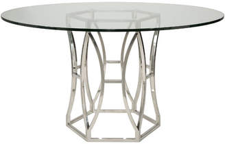 Willa Arlo Interiors Reynaldo Metal Base Dining Table