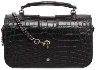 Saint Laurent Medium Charlotte Embossed Leather Bag