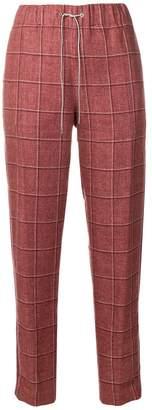 Fabiana Filippi cropped check trousers