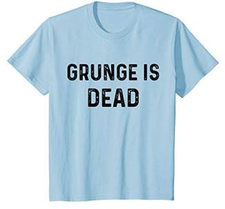 Grunge Is Dead | Rock Music Funny T-Shirt