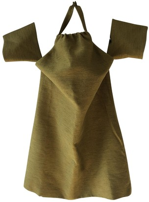 Cameo Khaki Dress for Women