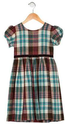 Rachel Riley Girls' Plaid A-Line Dress
