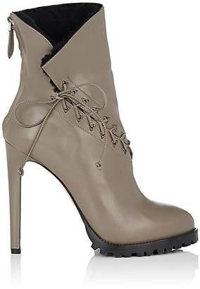 Alaia Women's Leather Platform Ankle Boots
