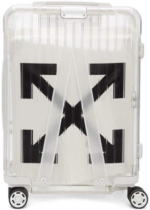 Off-White Off White White RIMOWA Edition See Through Carry-On Suitcase