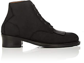 Barbanera Men's Buster Oiled Suede Boots - Black