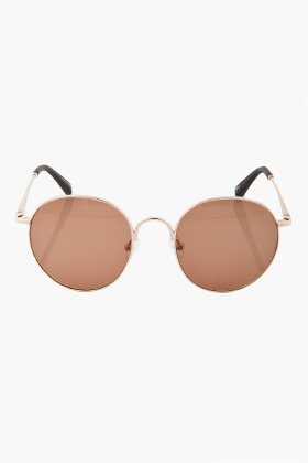 THE ROW Circle Frame Sunglasses