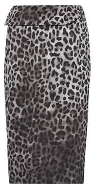 Tom Ford Leopard-printed skirt
