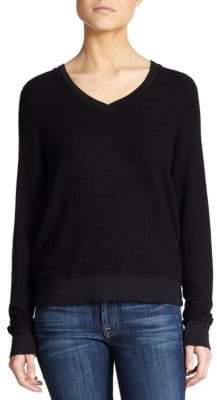 Wildfox Couture Women's V-Neck Sweatshirt - Black - Size XS