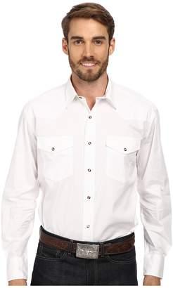 Roper Solid Poplin L/S Shirt Men's Long Sleeve Button Up