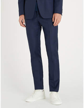 Tiger of Sweden Birdseye slim-fit skinny wool trousers