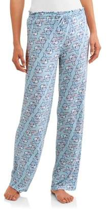 Chipndale Women's and Women's Plus Knit Sleep Pant