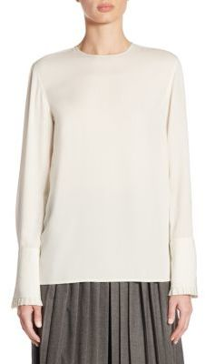 Ralph Lauren Collection Lara Silk Blouse