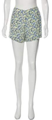 Equipment High-Rise Mini Shorts