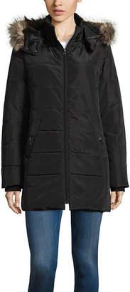 ST. JOHN'S BAY Heavyweight Puffer Jacket-Tall