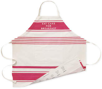 "Kate Spade Eat Cake for Breakfast"" Diner Stripe Apron"