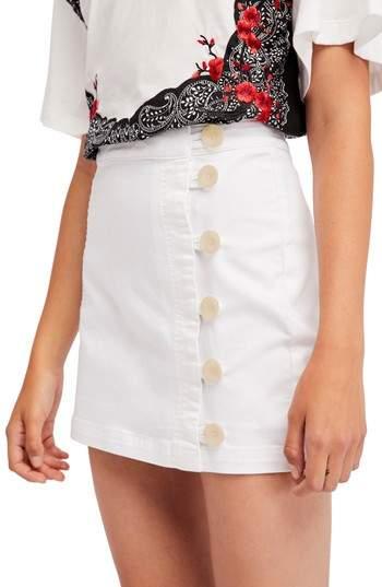 Free People Little Daisies Miniskirt