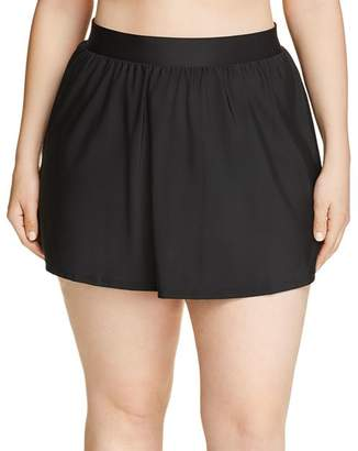 Miraclesuit Plus Solid Swim Skirt