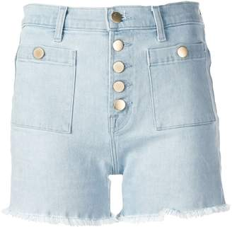 J Brand Joan high-waist denim shorts