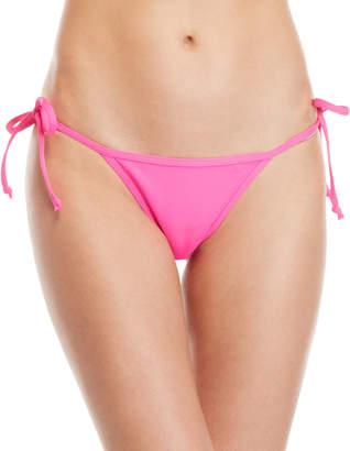 KENDALL + KYLIE Neon Pink String Bikini Bottom