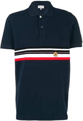 Paul & Joe stripe detail polo shirt