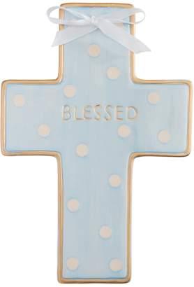 Elegant Baby Ceramic Cross