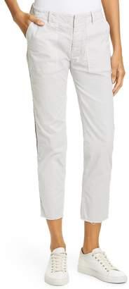 Nili Lotan Jenna Side Tape Crop Pants