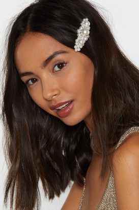 Nasty Gal Way to Go Pearl Hair Slide