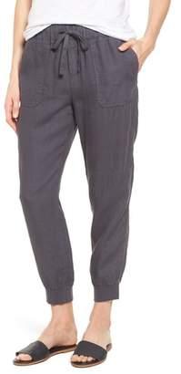 Caslon Linen Jogger Pants
