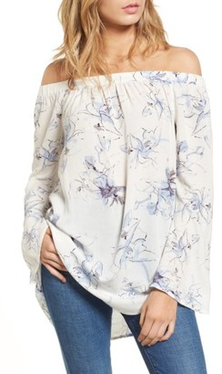 Women's Bp. Off The Shoulder Tunic $45 thestylecure.com