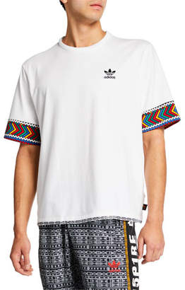 b8e32df6 adidas Men's x Pharrell Williams SOLARHU Trefoil T-Shirt