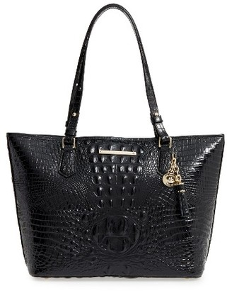 Brahmin 'Medium Asher' Leather Tote - Black $265 thestylecure.com