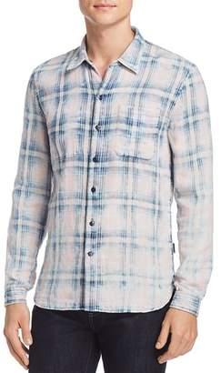 John Varvatos Double-Faced Reversible Button-Down Shirt