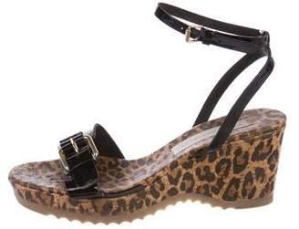 Stella McCartney Vegan Patent Leather Sandals
