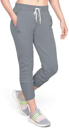 Under Armour Women's Fleece Mid-Rise Jogger Pants