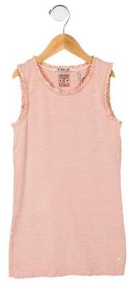 Scotch R'Belle Girls' Lace-Trimmed Sleeveless Top w/ Tags