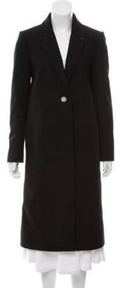 Alice + Olivia Virgin Wool Long Coat