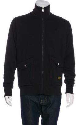 G Star Knitted Zip Sweater