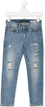 Antony Morato Junior distressed slim-fit jeans