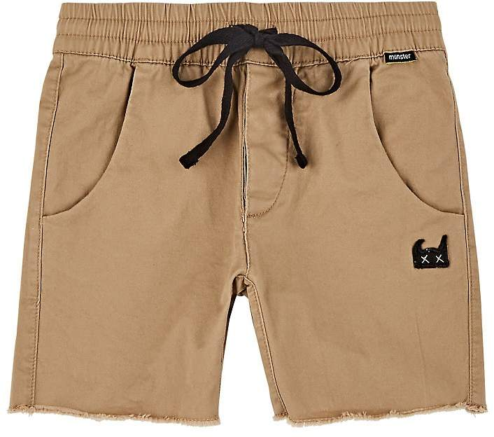 Kids' Cotton Twill Shorts