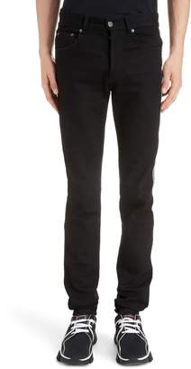 Givenchy Side Stripe Skinny Jeans