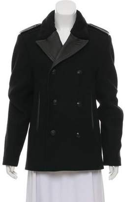 The Kooples Double-Breasted Short Coat
